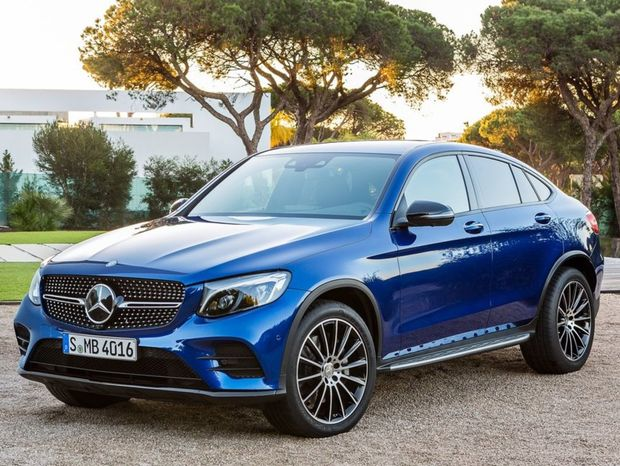 Mercedes-Benz-GLC Coupe 2017 1024x768 wallpaper 01