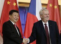 Česká republika, Čína, Miloš Zemna, Si Ťin-pching