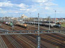 stanica, železnica, elektrické vedenie, elektrina, troleje