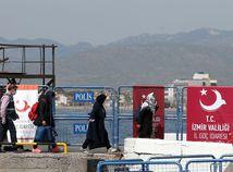 utečenci, migranti, dikili,turecko,