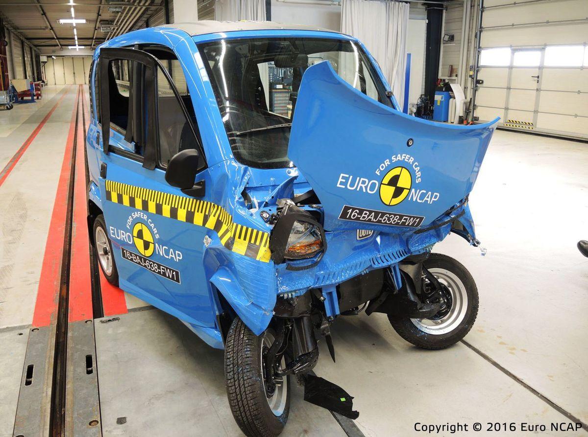 A takto dopadol nárazový test, ktorý uskutočnilo Euro NCAP. Prežiť nemáte šancu.