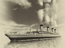 Titanic, parník, loď,