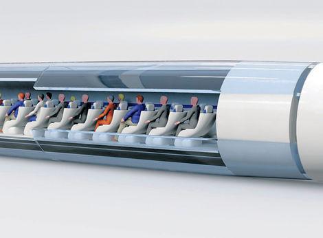 Začínajú stavať kapsulu na prepravu ľudí na rýchlodráhe Hyperloop