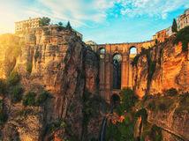 Španielsko, Puente Nuevo - Nový most, rieka Guadalevin, NEST1 NEPOUZI