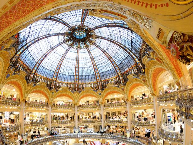 Galeries Lafayette, Paríž
