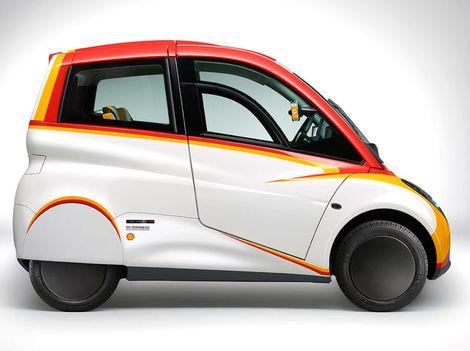 Shell Project M: Mestské auto môže mať 550 kg a spotrebu 2,6 l