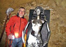 železná panna, Čachtice, Miroslav Bitarovský, katakomby