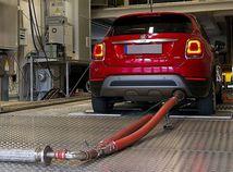 Fiat 500X - meranie emisií DUH