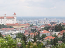 Iuventa, Budkova 2, vyhlad na mesto, hrad, Bratislava, panorama