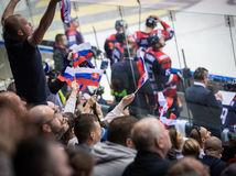 slovensko, dánsko, hokej, fanúšikovia, atmosféra,