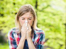 alergia, peľ, nádcha