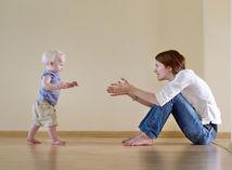 dieťa, kroky