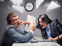 kariéra, konflikt, pracovisko