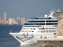 Kuba, loď, USA, Adonia