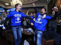Leicester City, fanúšikovia, radosť