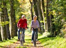 dôchodcovia, šport, bicyklovanie