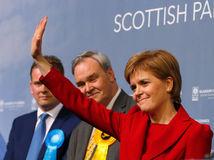 Británia, Škotsko, Nicola Sturgeon, SNP,