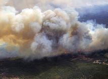 Kanada, požiar, Alberta,