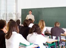 škola, žiaci, učiteľ, vyučovanie