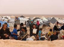 sýria, utečenci, jordánsko