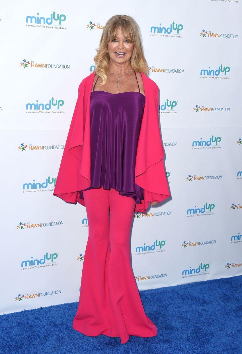 "Goldie Hawn na charitatívnej akcii  ""Love In For Kids"" v Beverly Hills."