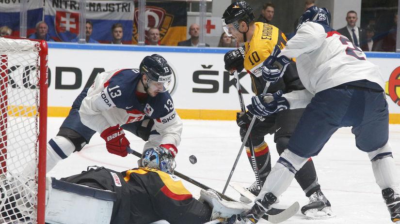 5f68afdf2b47b Slováci prehrali s Nemeckom vysoko 1:5! Oznámkujte ich výkon - Majstrovstvá  sveta v ľadovom hokeji 2016 - Hokej - Šport - Pravda.sk