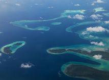 ostrovy, oceán