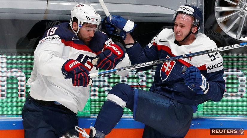 15e9892653131 Slováci zdolali USA 3:2 po predĺžení. Na postup to nestačilo - Majstrovstvá  sveta v ľadovom hokeji 2016 - Hokej - Šport - Pravda.sk