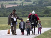 Grécko, migranti,