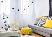 obývačka, žltá