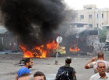Sýria, útok