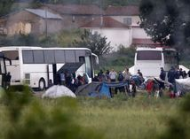 Grécko, Idomeni, utečenci