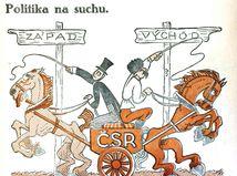 Sršeň, karikatúra