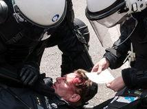 belgicko, brusel, protest, demonštrácia, šéf polície,