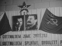 Gottwald, Stalin, voľby 1946