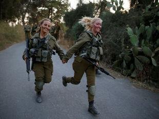 Izrael, vojačky, armáda