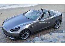 Tesla Roadster 2018 - ilustrácia