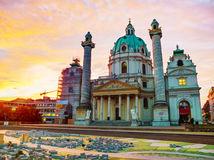 Viedeň, Rakúsko, Chrám sv. Karla