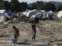 Idomeni, utečenci