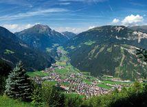 mayrhofen, rakúsko, krajina, príroda,
