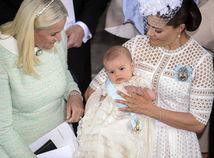 princezná Victoria - princ Oscar - krstiny