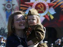 Rusko, mama, dieťa, Červená armáda,
