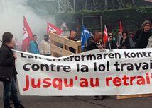 FFrancúzsko, štrajk,