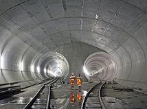 Gotthardský železničný tunel