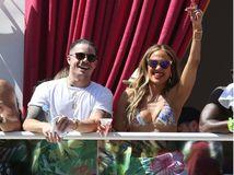 Jennifer Lopez a jej partner Casper Smart
