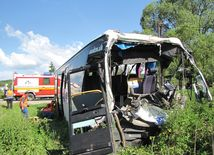 nehoda autobusu, autobus, krupina,