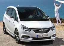 Opel Zafira - facelift 2016