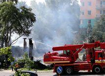požiar, hasiči