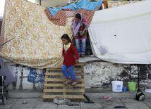 grécko, utečenci