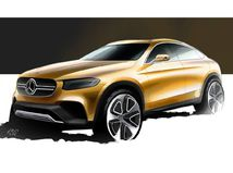 Mercedes-Benz GLC Coupé Concept - 2015
